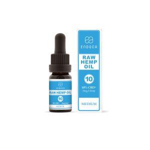 Endoca конопено масло 10% CBD+CBDa